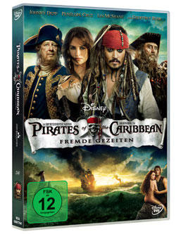 DVD Cover Pirates of the Caribbean - Fremde Gezeiten