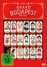DVD Cover Grand Budapest Hotel