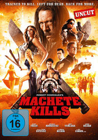 DVD Cover Machete Kills