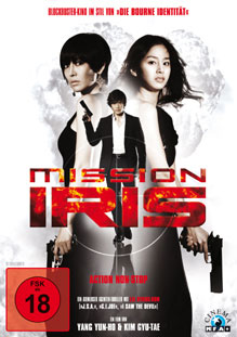 DVD Cover Mission I.R.I.S.
