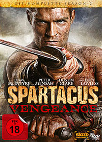 DVD Cover Spartacus – Vengeance