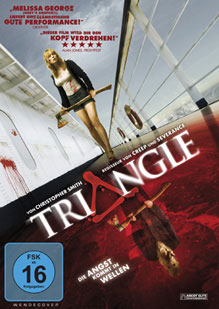 DVD Cover Triangle - Die Angst kommt in Wellen