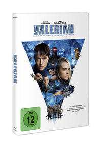 DVD Cover Valerian